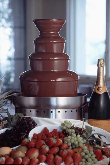 Chocolate Cascade Beautiful Chocolate Fountains